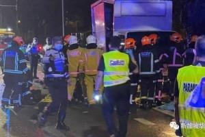 新加坡又发生致命车祸!摩托车骑士被卷入罗厘车底不治身亡