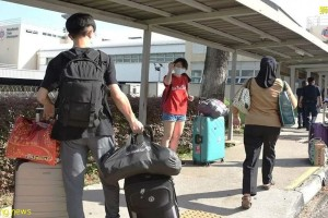 """马来西亚列新加坡为""""关注区"""", PCA旅客必须进行14天的强制隔离"""
