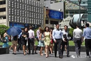 外来人口30年翻倍 新加坡每十人当中就有四人非本地出生